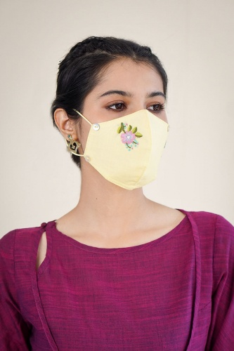 Reusable embroidered Face Mask